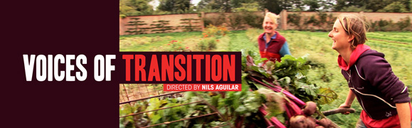Voices of Transition Header Image - Still from Film with Logo