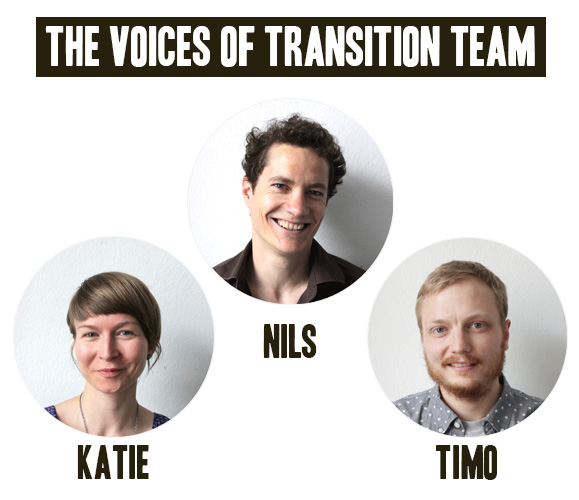 Portraits of the Voices of Transition Team